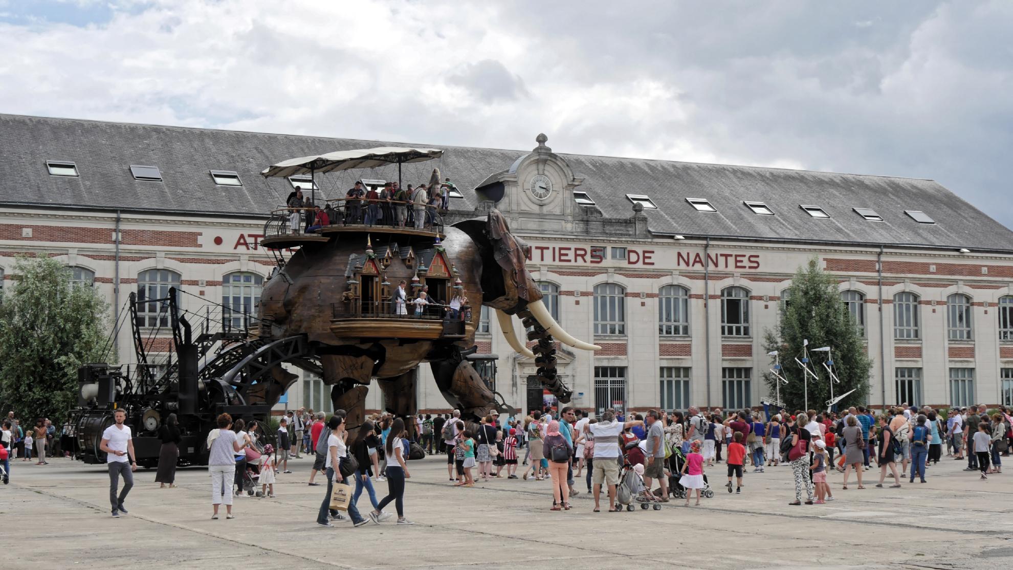 Machines de l'ile Nantes DxO